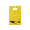 LDPE Yellow Side Sealed Die Cut Shopping Bag