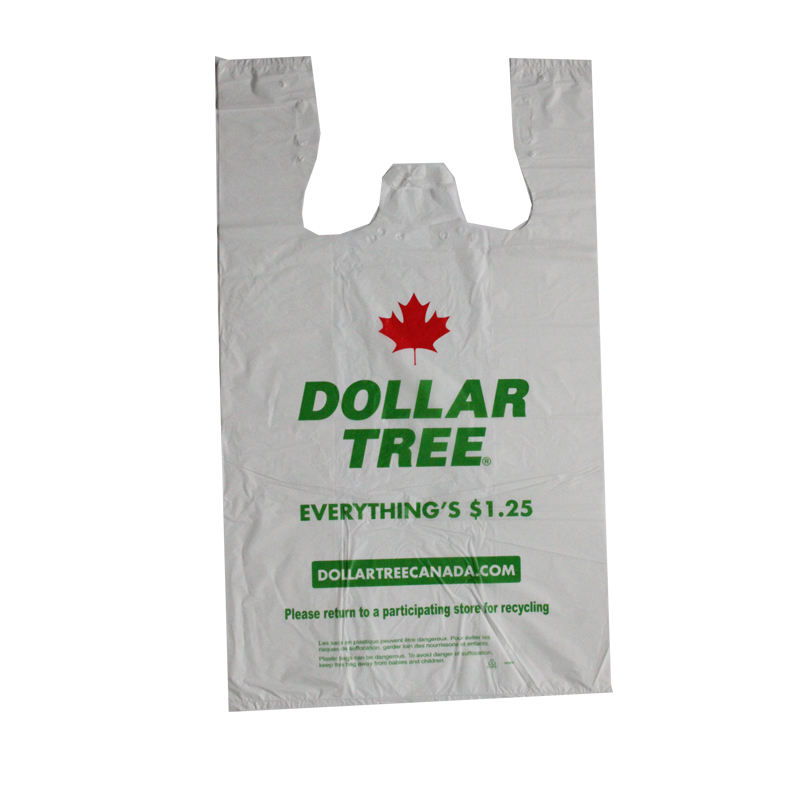 Dollar Tree Easy Open T-shirt Bag