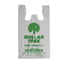 Dollar Tree Easy Open T-shirt Bag 1c 1s