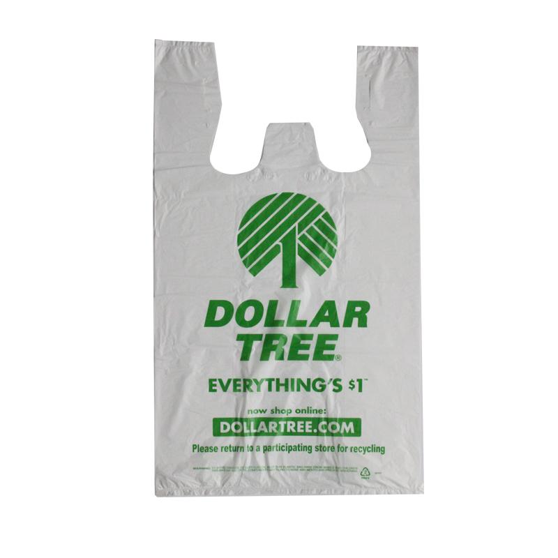Dollar Tree Easy Open T-shirt Bag 1c 1s