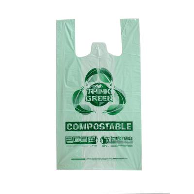 100% Biodegradable T-shirt Bag