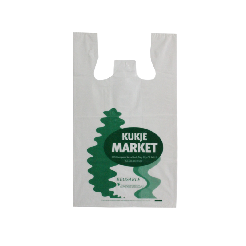 LDPE Clear 2.25mil Reusable T-shirt Bag