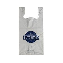 LDPE White 2.25mil Reseable T-shirt Bag